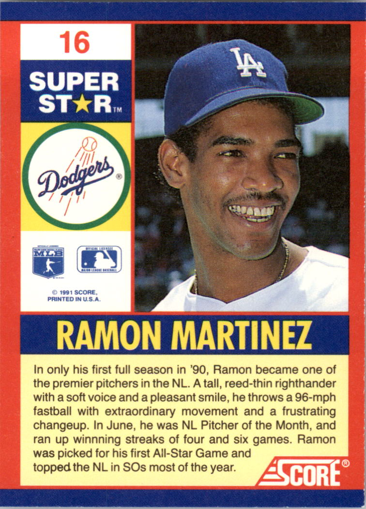 Details About 1991 Score Baseball 100 Superstars S 1 100 You Pick Buy 10 Cards Free Ship