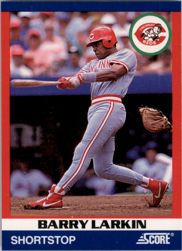 1991 Score 100 Superstars #20 Barry Larkin