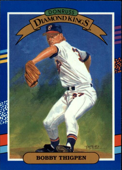 1991 Donruss #8 Bobby Thigpen DK