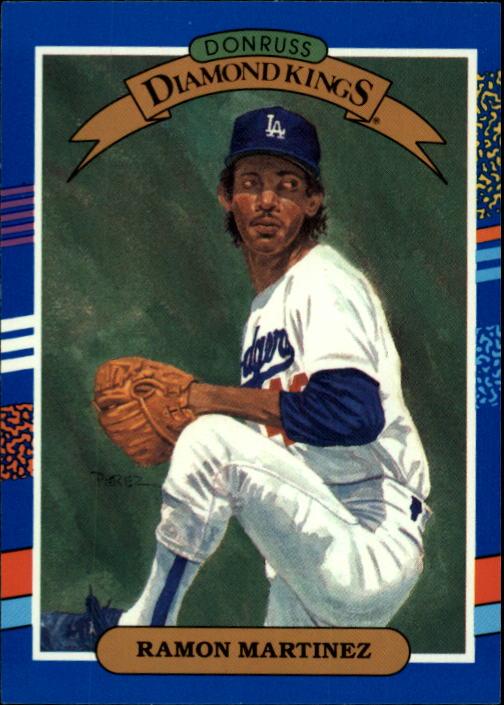 1991 Donruss #15 Ramon Martinez DK