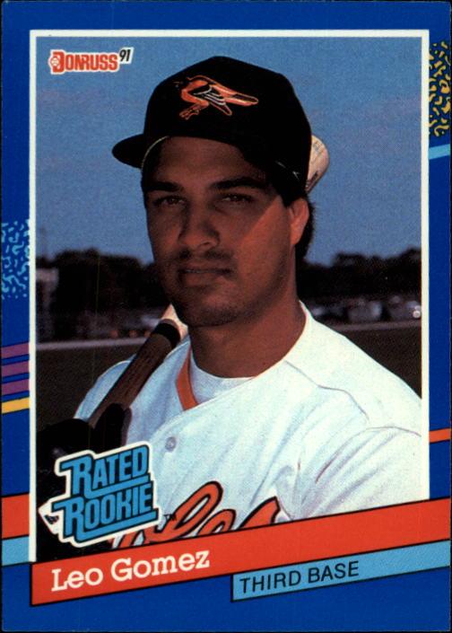 1991 Donruss #35 Leo Gomez RR