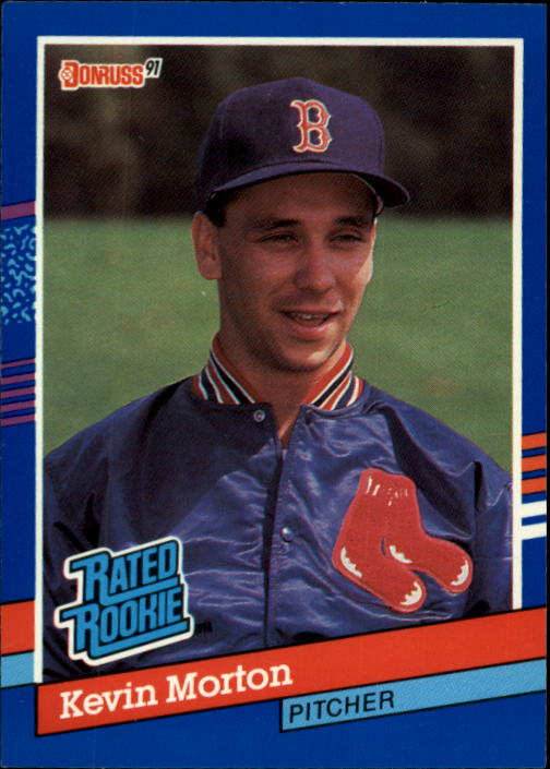 1991 Donruss #37 Kevin Morton RR RC