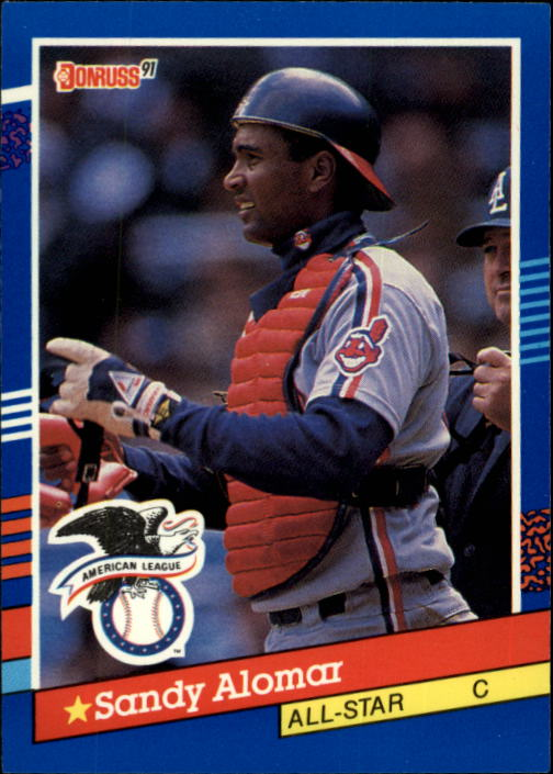1991 Donruss #51 Sandy Alomar Jr. AS