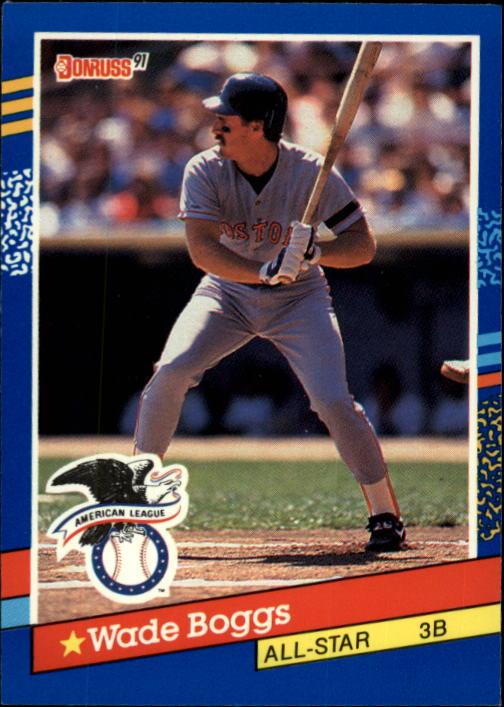 1991 Donruss #55 Wade Boggs AS