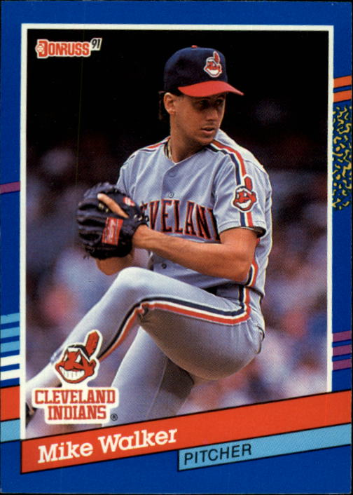 1991 Donruss #61 Mike Walker