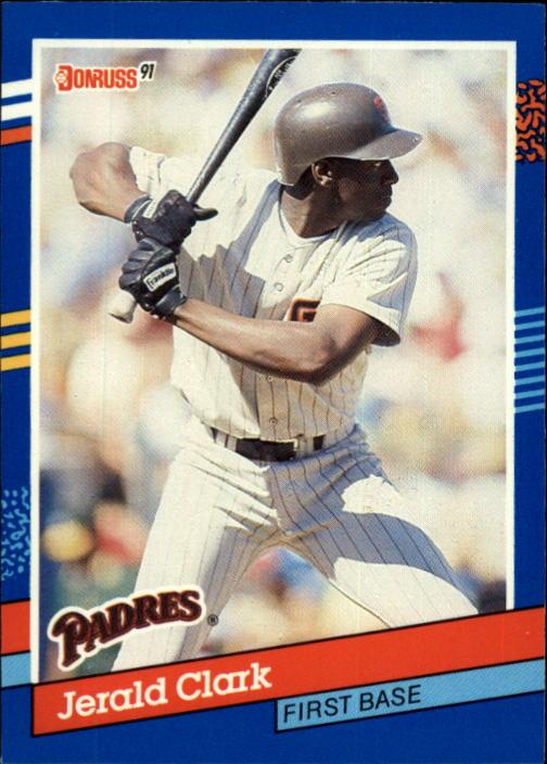 1991 Donruss #74 Jerald Clark