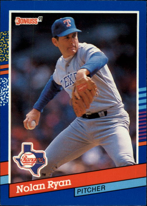 1991 Donruss #89 Nolan Ryan