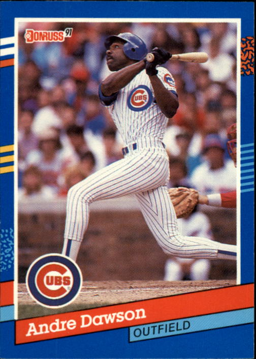 1991 Donruss #129 Andre Dawson