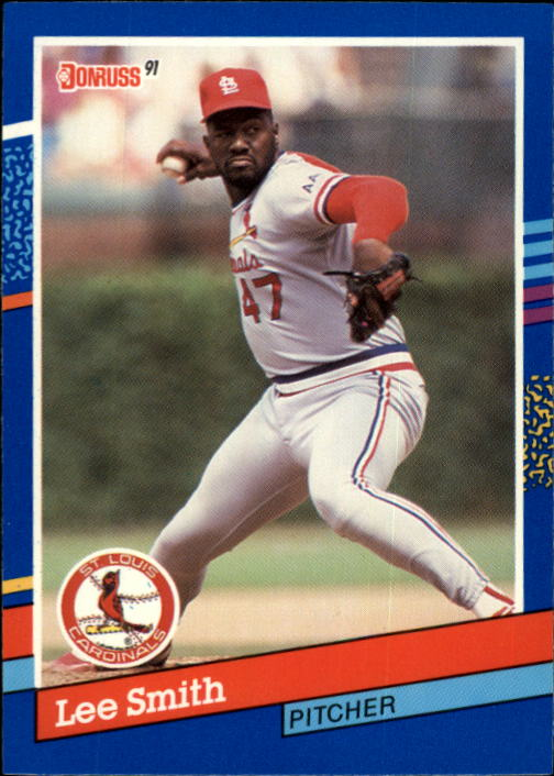 1991 Donruss #169 Lee Smith