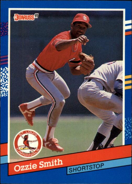 1991 Donruss #240 Ozzie Smith