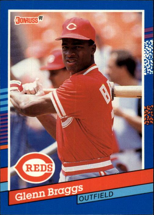 1991 Donruss #253 Glenn Braggs