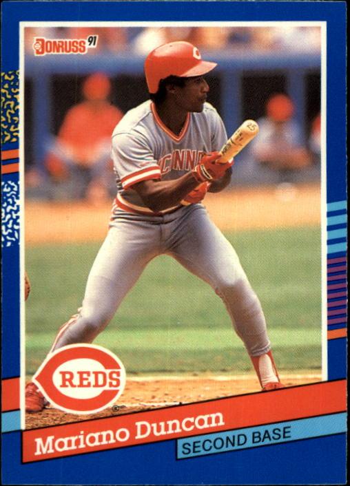 1991 Donruss #309 Mariano Duncan