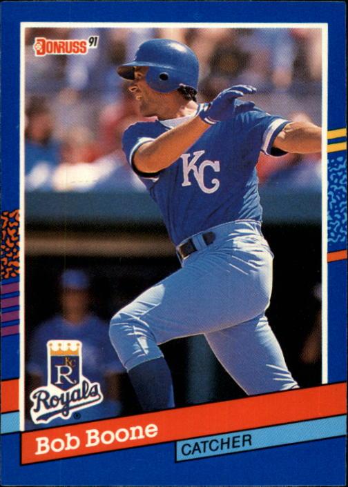 1991 Donruss #356 Bob Boone
