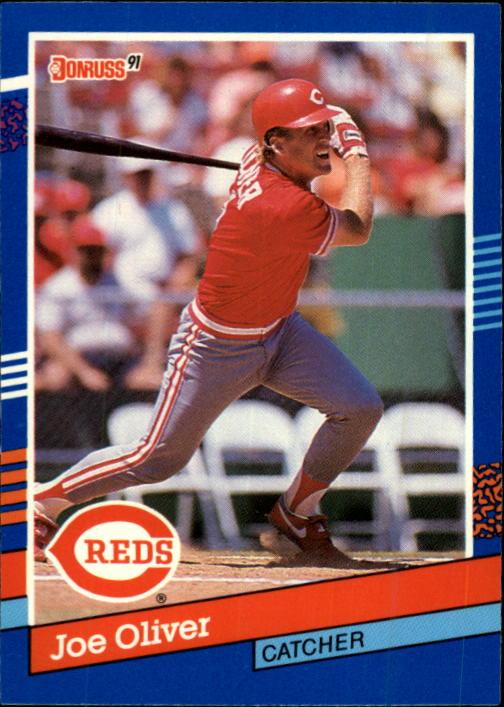1991 Donruss #381 Joe Oliver