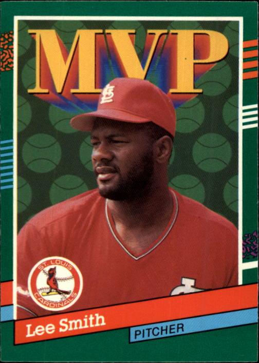 1991 Donruss #403 Lee Smith MVP