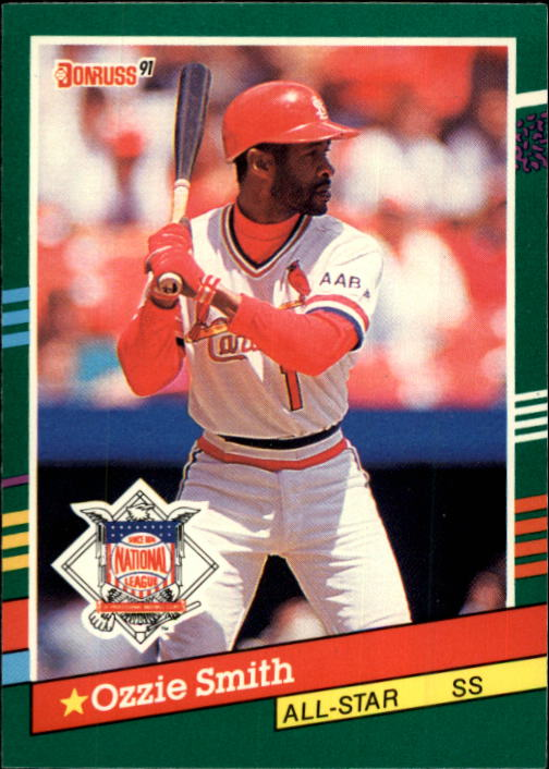 1991 Donruss #437 Ozzie Smith AS
