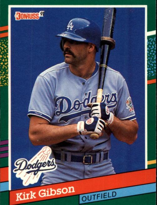 1991 Donruss #445 Kirk Gibson