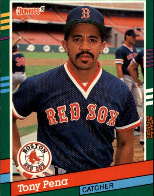 1991 Donruss #456 Tony Pena