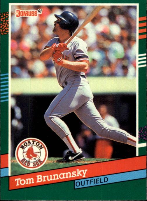 1991 Donruss #513 Tom Brunansky