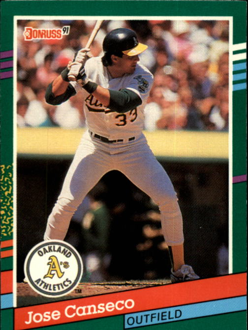 1991 Donruss 536 Jose Canseco Nm