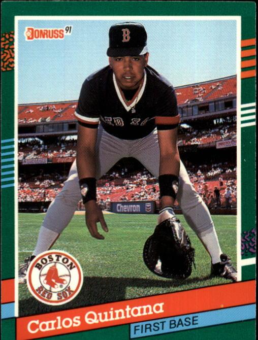 1991 Donruss #568 Carlos Quintana