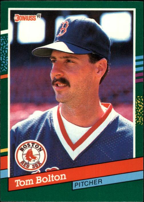 1991 Donruss #609 Tom Bolton