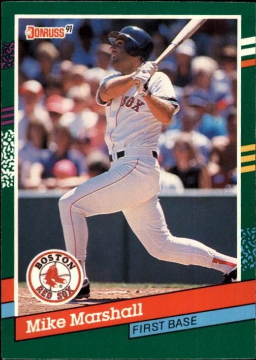1991 Donruss #625 Mike Marshall