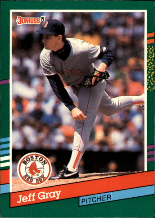 1991 Donruss #721 Jeff Gray RC