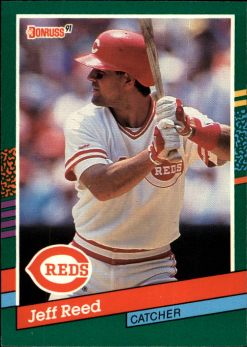1991 Donruss #741 Jeff Reed