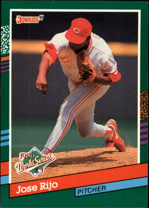 1991 Donruss #742 Jose Rijo WS