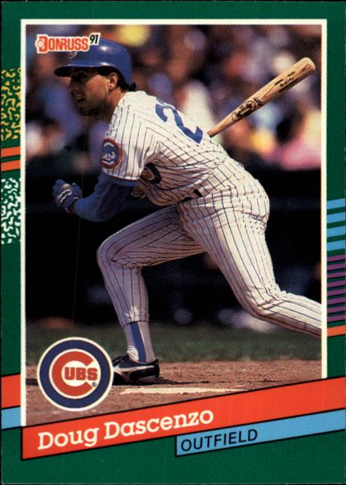 Details About 1991 Donruss Baseball Card 749 Doug Dascenzo