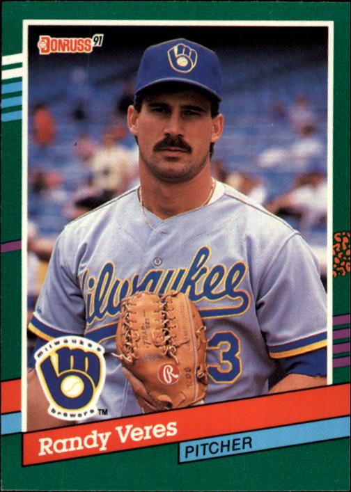 1991 Donruss #755 Randy Veres