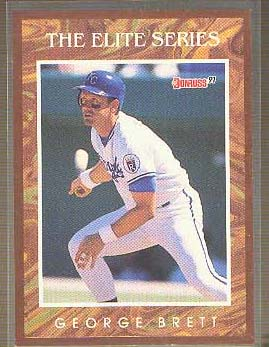 1991 Donruss Elite #2 George Brett