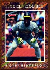 1991 Donruss Elite #7 Rickey Henderson