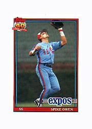 1991 Topps Micro #372 Spike Owen