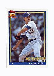 1991 Topps Micro #694 Randy Veres