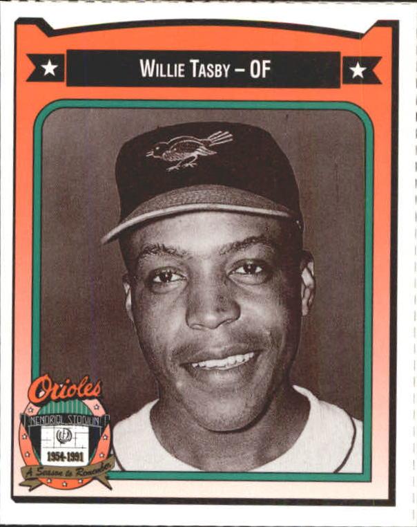 1991 Orioles Crown #449 Willie Tasby