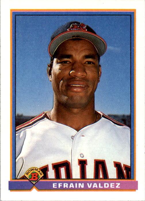 1991 Bowman #60 Efrain Valdez RC