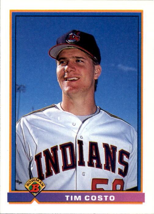 1991 Bowman #79 Tim Costo RC