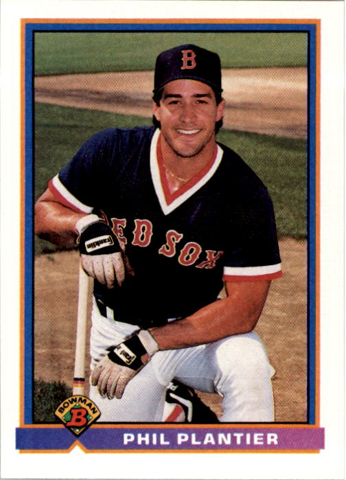 1991 Bowman #117 Phil Plantier RC