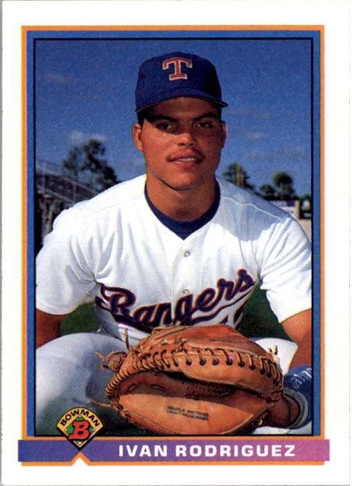 1991 Bowman #272 Ivan Rodriguez RC
