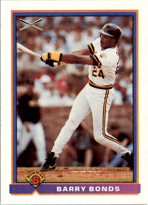 1991 Bowman #380 Barry Bonds SLUG