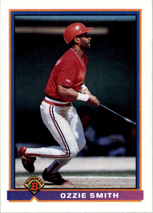 1991 Bowman #398 Ozzie Smith