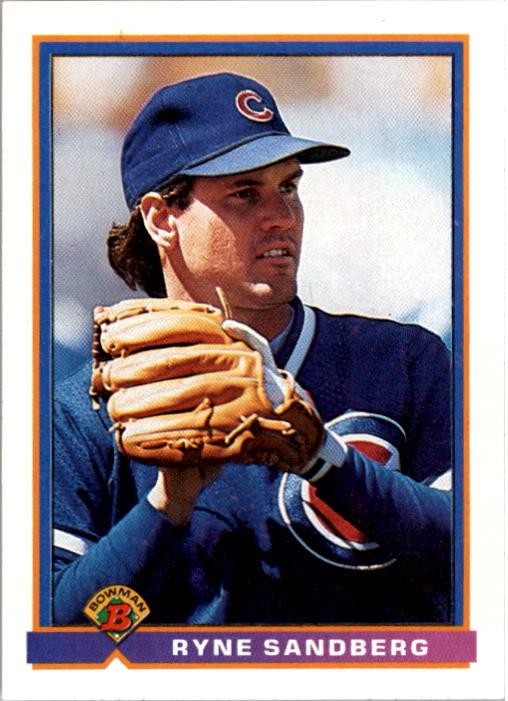 1991 Bowman #416 Ryne Sandberg
