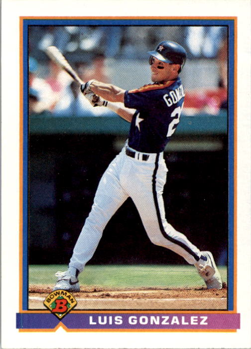 1991 Bowman #550 Luis Gonzalez RC
