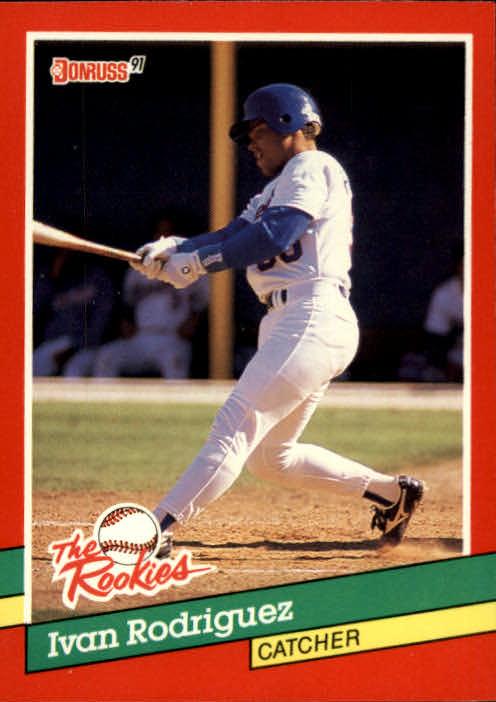 1991 Donruss Rookies #33 Ivan Rodriguez RC