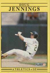 1991 Fleer #12 Doug Jennings