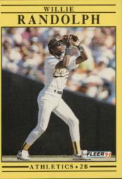 1991 Fleer #22 Willie Randolph