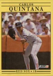 1991 Fleer #108 Carlos Quintana