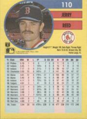 1991 Fleer #110 Jerry Reed back image